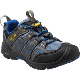 Keen Oakridge Low WP - Chaussures Enfant - gris/bleu